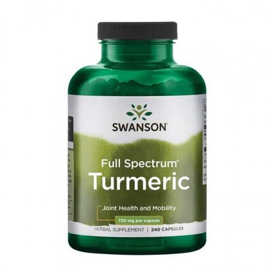 Turmeric 720mg 240 caps - Swanson Premium