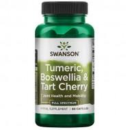 Turmeric, Boswellia & Tart Cherry 60 caps - Swanson