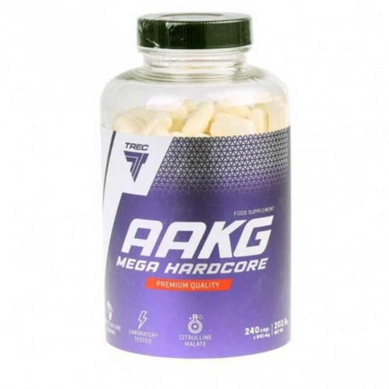 AAKG Mega Hardcore 240 caps - Trec Nutrition / Αμινοξέα - Pre-workout
