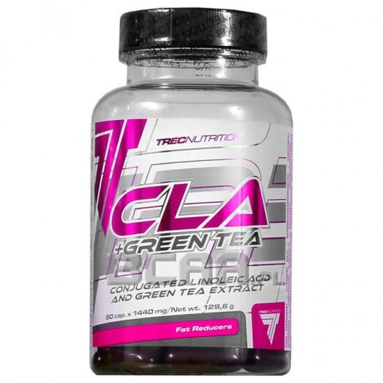 CLA + GREEN TEA 90 caps - Trec Nutrition / Λιποδιαλύτης