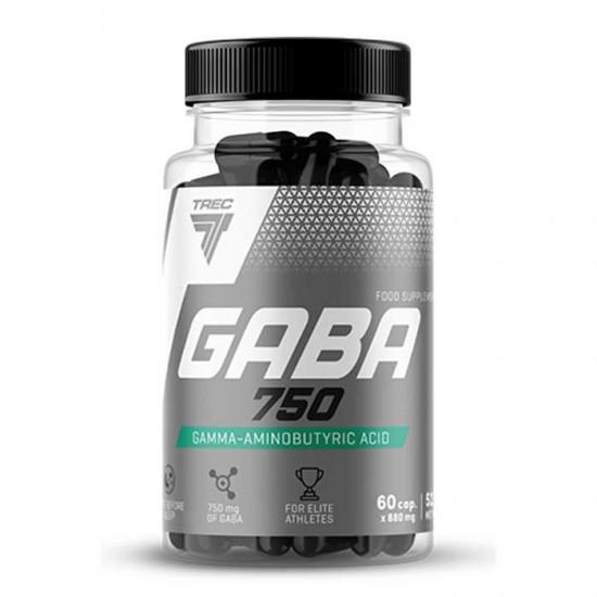 GABA 750 - 60 capsules - Trec Nutrition / Αποκατάσταση Recovery