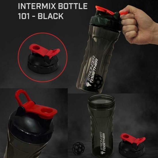 Intermix Shaker Bottle 1000ml Black - Trec Nutrition
