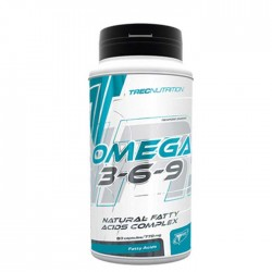Omega 3-6-9, 60 caps Trec Nutrition / Ωμέγα Λιπαρά