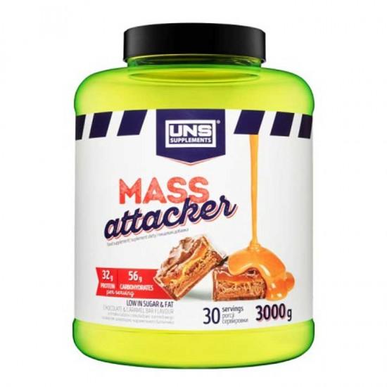 Mass Attacker 3kg UNS - Πρωτεΐνη Gainer  για όγκο
