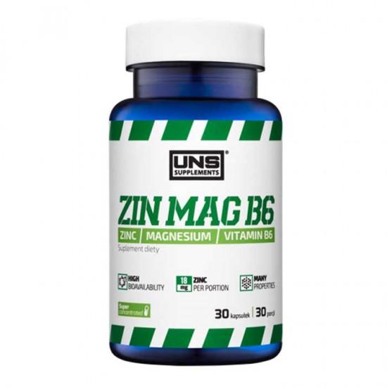 ZinMag B6 30 caps - UNS