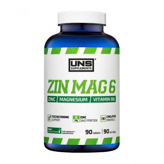 ZinMag B6 90 caps - UNS