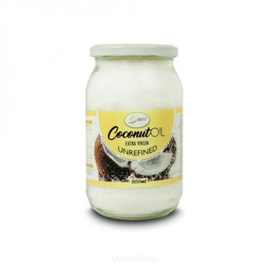 Coconut Oil Extra Virgin Unrefined 900ml - Vivio / Έλαιο Καρύδας