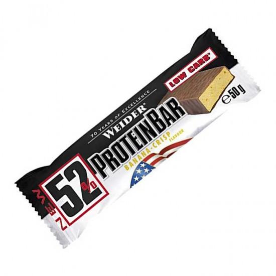 52% Protein Bar Weider 50 gr / Μπάρα Πρωτεΐνης