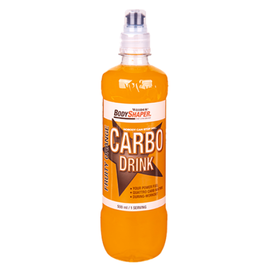 Carbo Energy Drink Weider Body Shaper 12 x 500ml