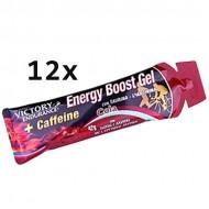 Energy Boost Gel + Caffeine 12x42gr - Weider Victory Endurance Ενεργειακά