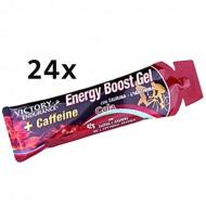 Energy Boost Gel + Caffeine 24x42gr - Weider Victory Endurance Ενεργειακά