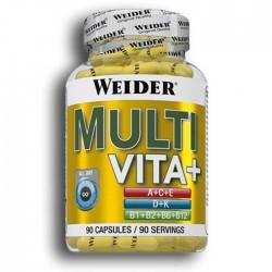 Multi Vita+  90 κάψουλες - Weider  / Βιταμίνες