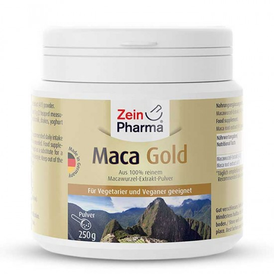 Maca Gold Powder 250 gr - Zein Pharma
