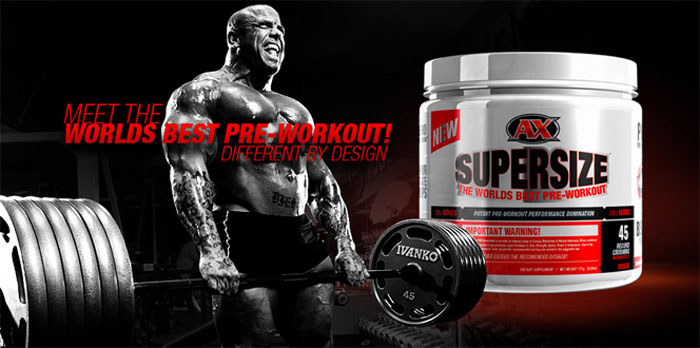 Preworkout Super Size 171 g - Athletic Xtreme